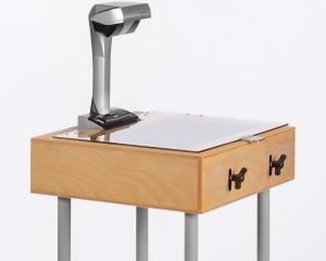 Scantisch für den FUJITSU SCANSNAP SV600 mit Tischbeine