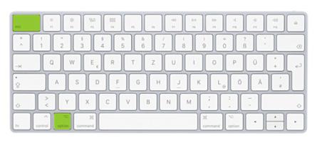 Apple Tastatur Wahl Esc