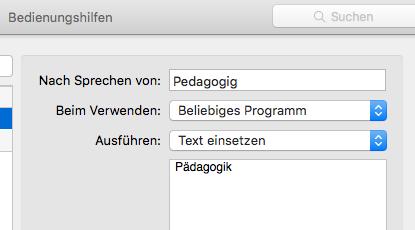 Mac Sprachsteuerung